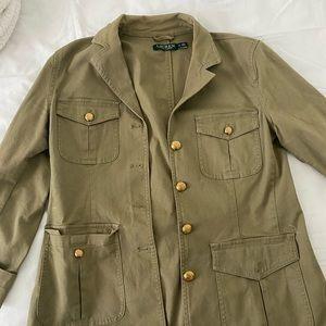 Ralph Lauren Stretch-Cotton Canvas Jacket